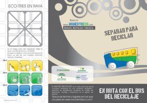 Triptico «Bus del Reciclaje»